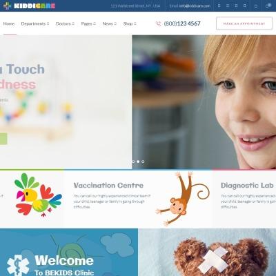 Temas WordPress para Sitios de Medicina