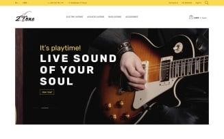 2Tone - Guitar Store PrestaShop Theme