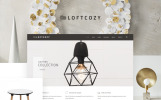 Responsivt Loftcosy - Interior and Decor eCommerce WooCommerce-tema