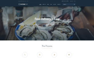 Catering Chief - Catering Joomla Template