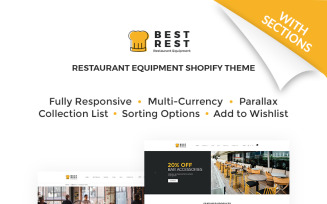 Best Rest - Bar Accessories Shopify Theme