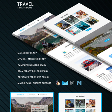 Preview image of Travel - Responsive Email
