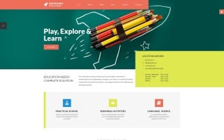 Red Rocket - Primary School Joomla Template