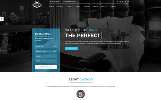 Chondo - Hotel HTML Website Template