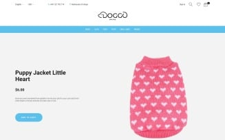 Doggo - Pet Shop PrestaShop Theme