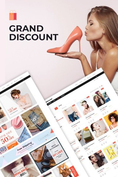 Grand Discount - Fashion & Fitness Clothing