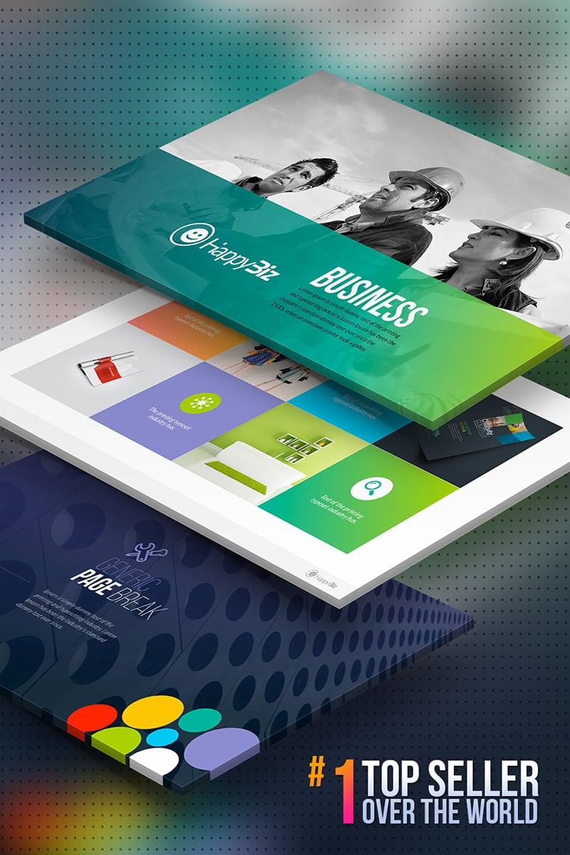 HappyBiz | Business PowerPoint Template