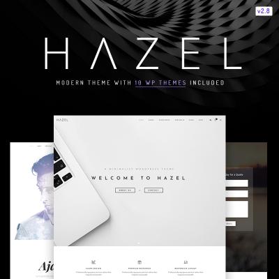 Hazel - Clean Minimalist Multi-Purpose WordPress Theme #67167