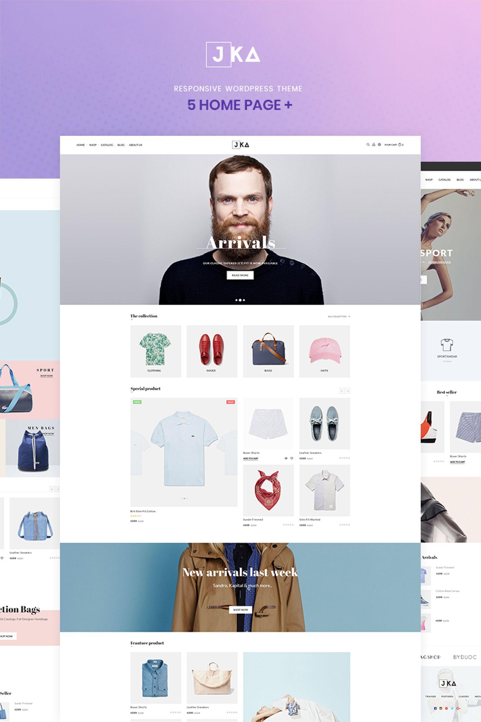 Jka Fashion WooCommerce Theme - screenshot