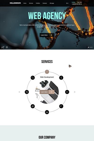 Plantilla Web para Sitio de Arte y Cultura #67173