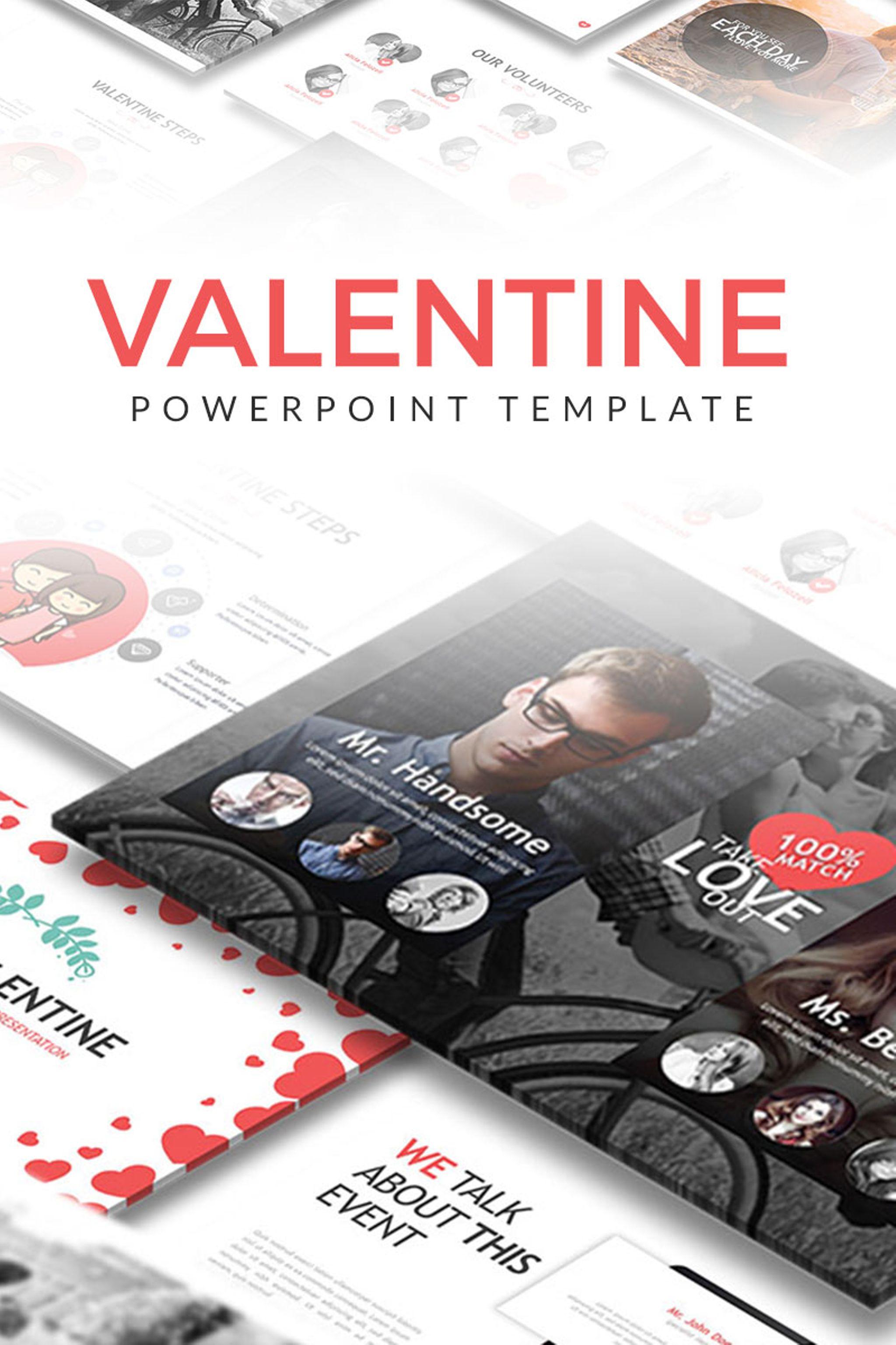 Sweet Valentine Powerpoint #67188