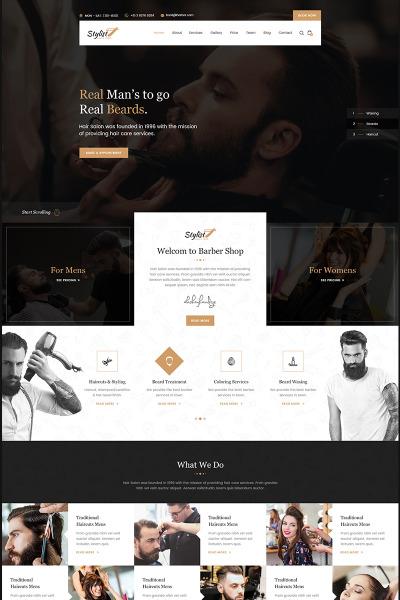 Template Web Flexível para Sites de Loja de Cosmédicos №67190 #67190