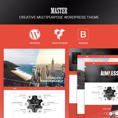 Responsives WordPress Theme für Kunst und Kultur