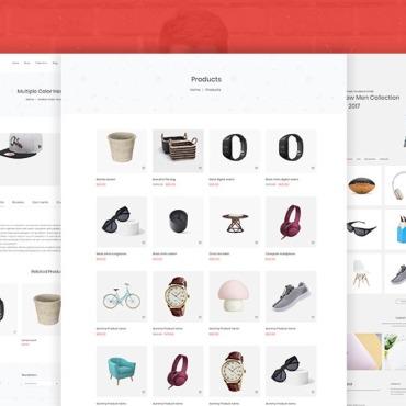 Купить  пофессиональные WooCommerce шаблоны. Купить шаблон #67247 и создать сайт.