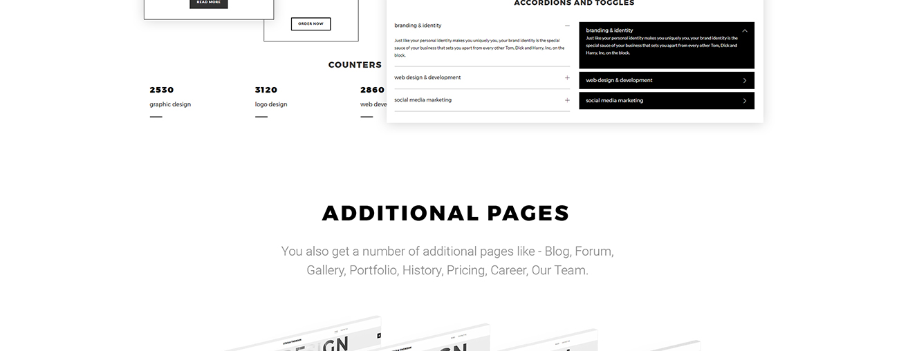 Website Design Template 67286 - designer cv blog portfolio photographer project business service video videographer studio agency