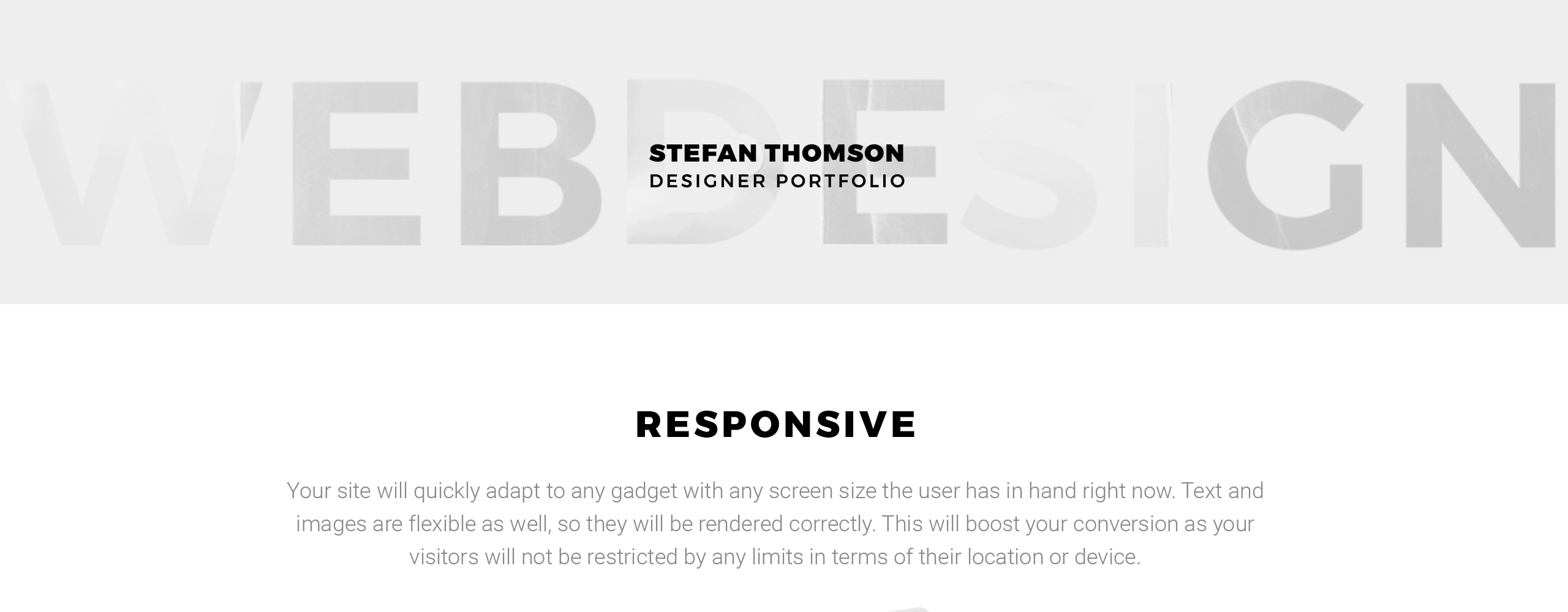 Website Design Template 67286 - project business service video videographer studio agency