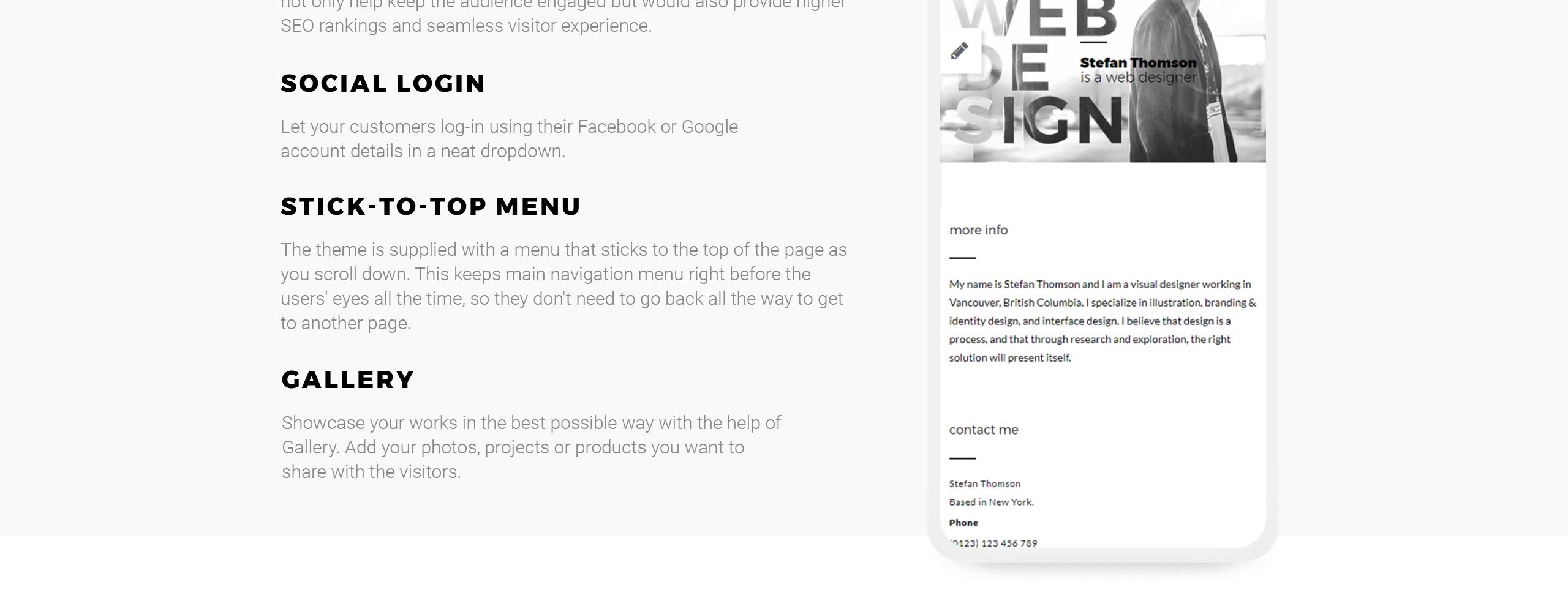 Website Design Template 67286 - blog portfolio photographer project business service video videographer studio agency