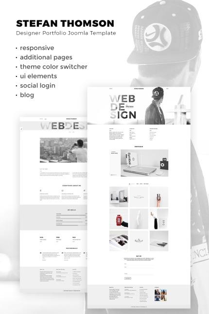 Website Design Template 67286 - portfolio photographer project business service video videographer studio agency