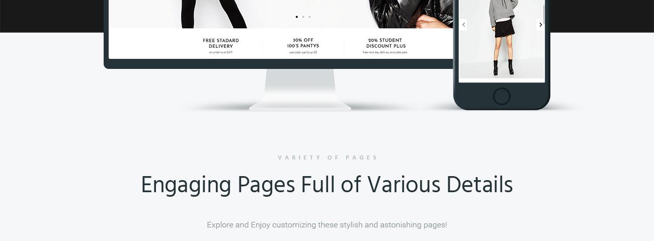 Website Design Template 67288 - premium promotion responsive testimonials creative design