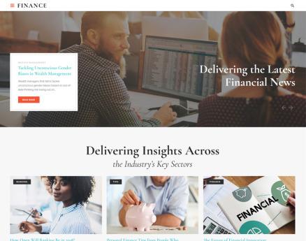 Finance - Financial Adviser Agency Multipage HTML Website Template