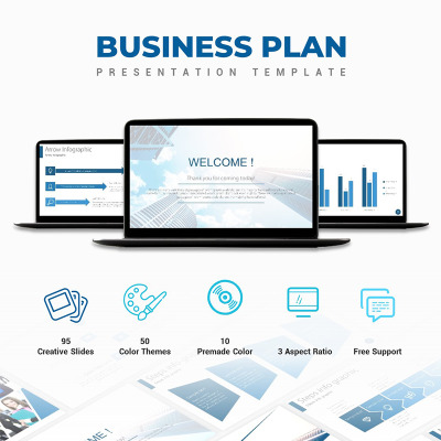 Business Plan Powerpoint Template 67200