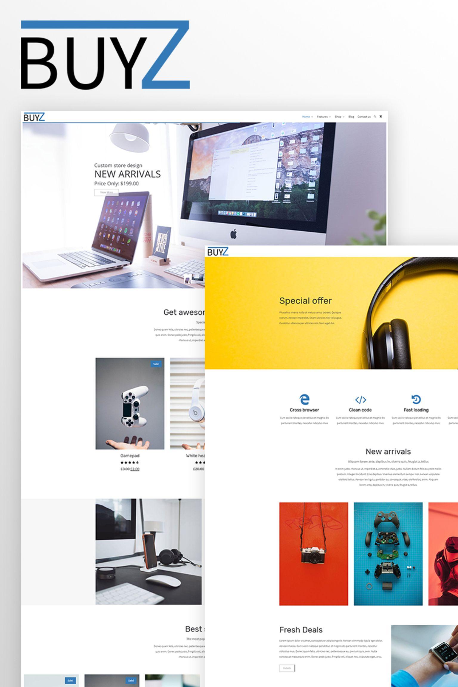 BuyZ - WooCommerce Theme