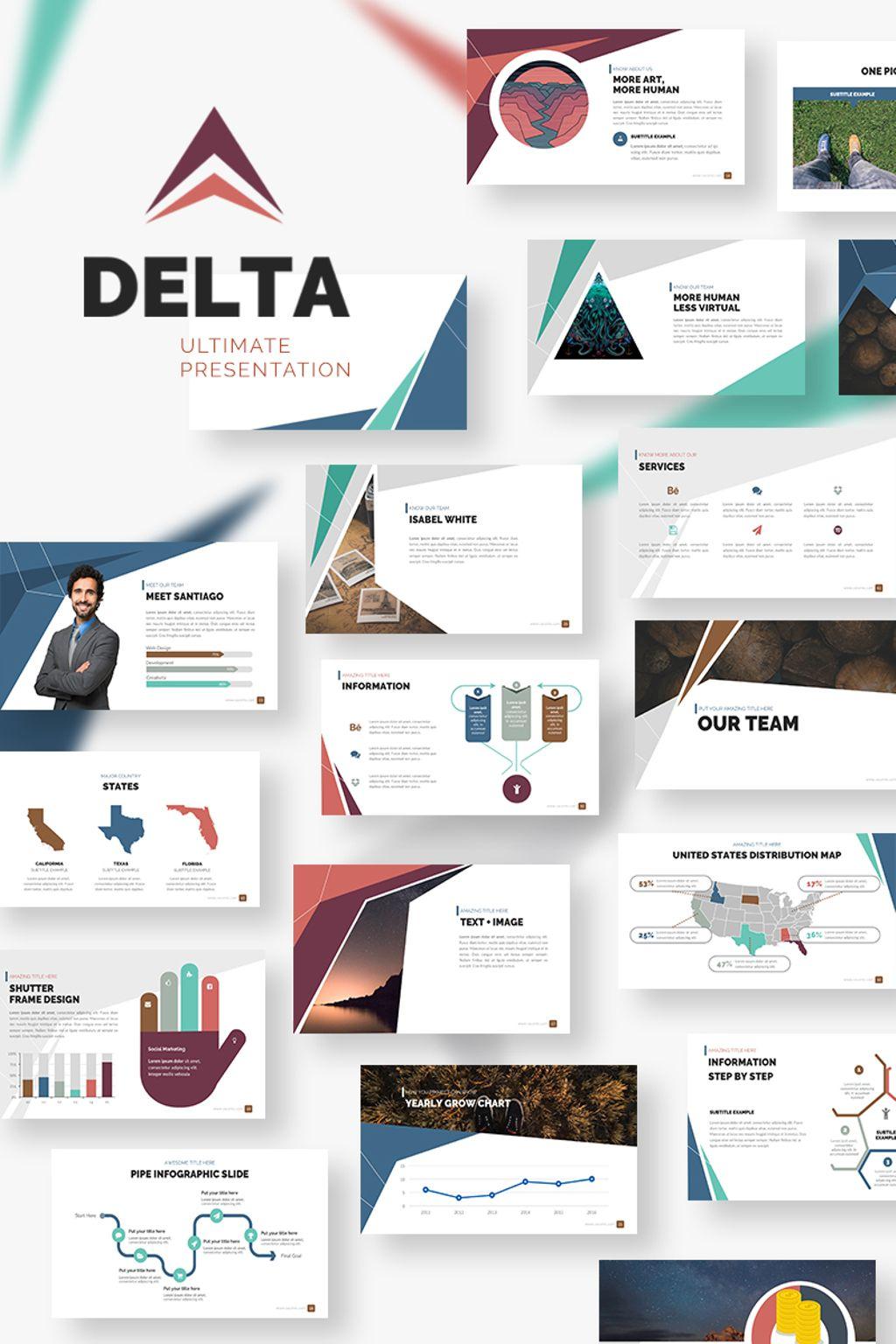 Delta Presentation PowerPoint Template