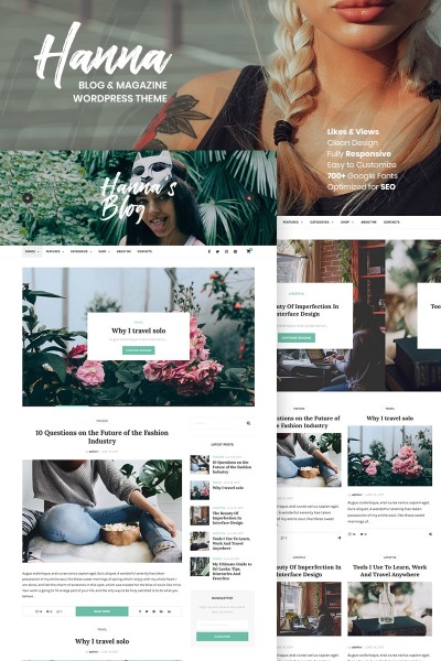 Hanna - A Beautiful Blog & Magazine
