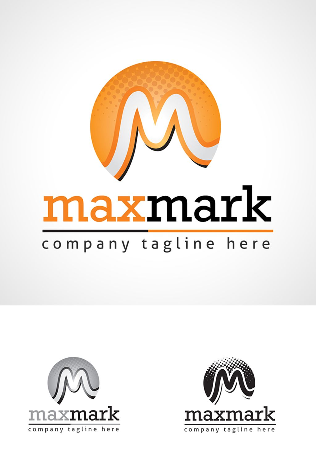 M Letter   | Professional  Design - Logo Template