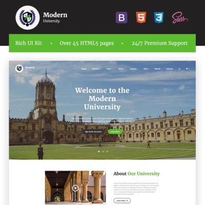 126+ Best Education Website Templates | TemplateMonster
