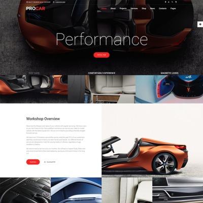 Car Dealer Responsive Weboldal Sablon
