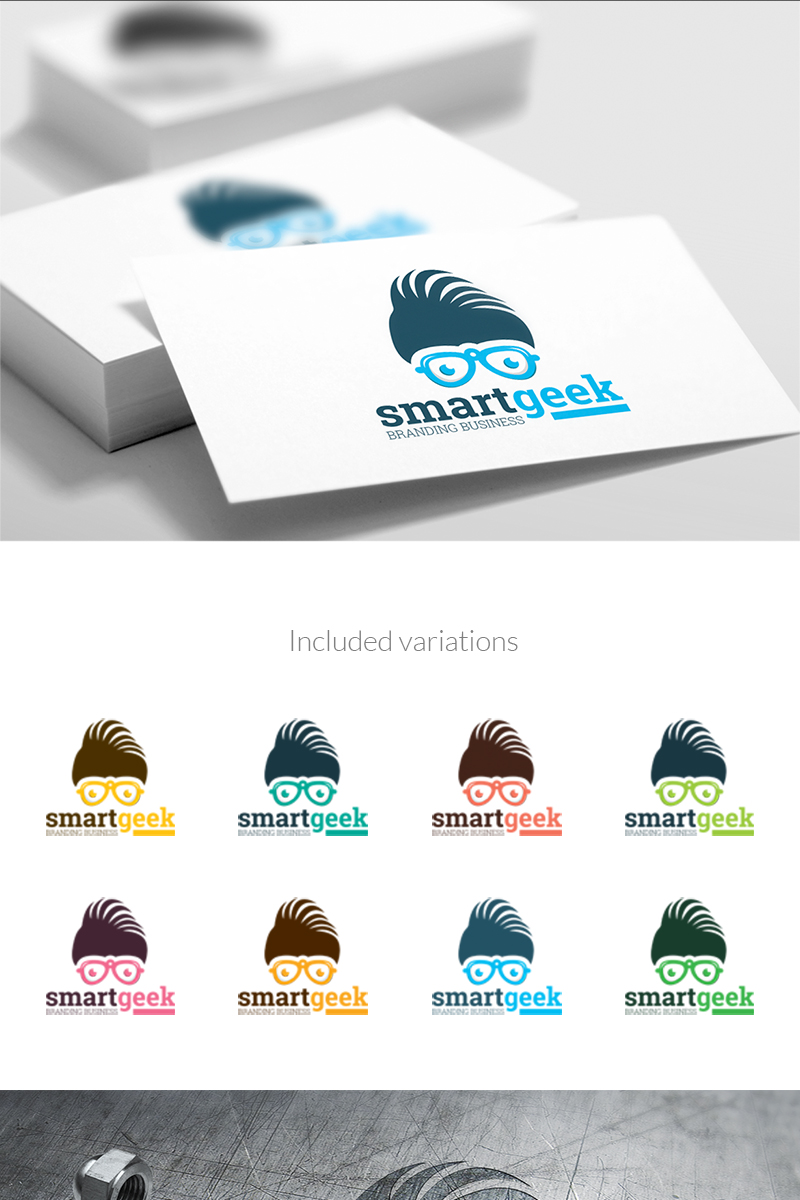 Smart Geek Fashion - Logo Template #67210