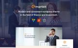 """Smartbit - Finance & Corporate"" Responsive WordPress thema"