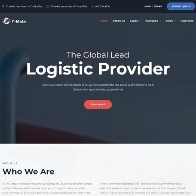 Temas WordPress para Sitios de Transporte