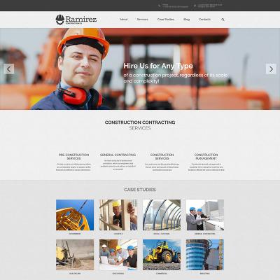 Plantillas WordPress para Sitios de Construcción