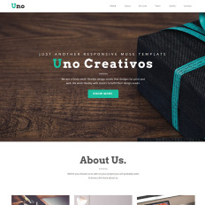 Muse templates adobe muse templates muse themes template monster uno creative one page responsive muse template pronofoot35fo Image collections