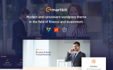 "WordPress Theme namens ""Smartbit - Finance & Corporate"""