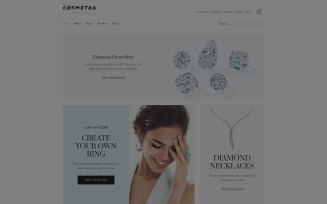 Diamanzza - Jewelry Store WooCommerce Theme