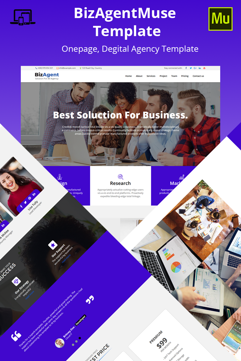 BizAgent Muse Template