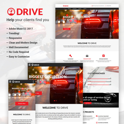 Muse Templates Adobe Muse Templates Muse Themes Template - Adobe muse website templates