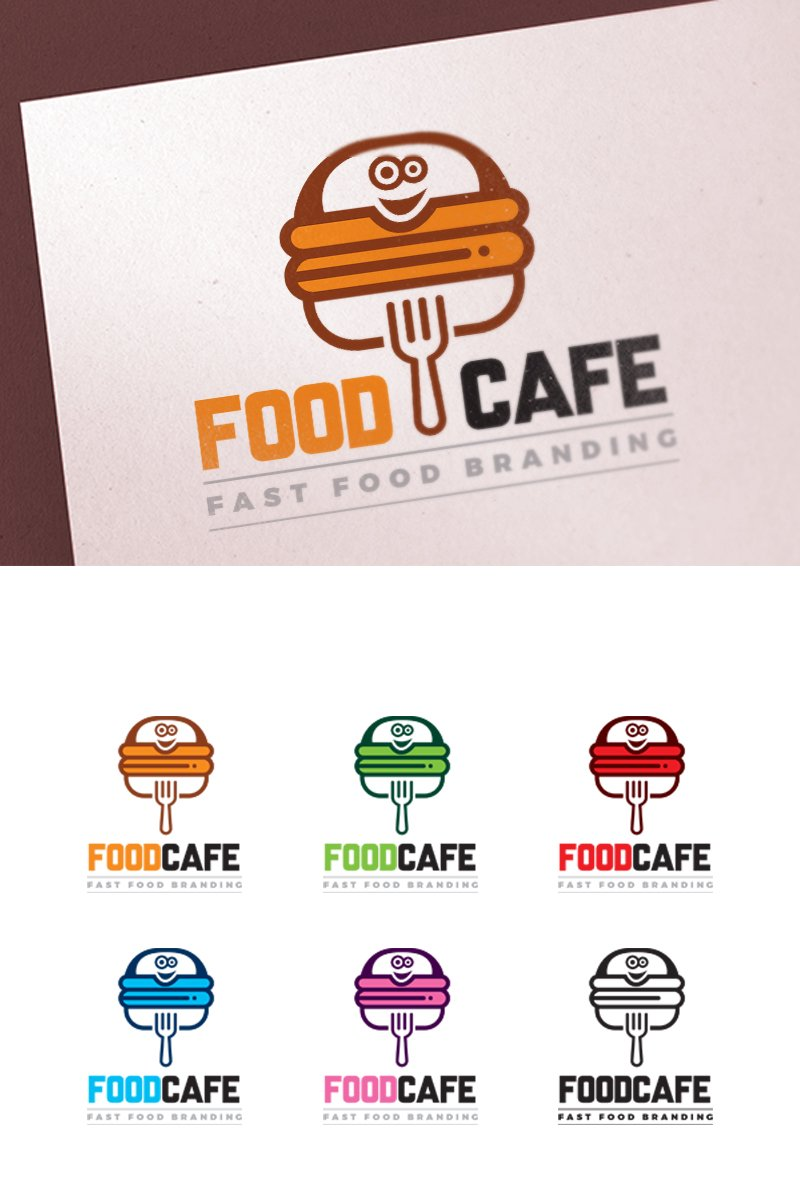 fast food restaurant logo template 67324