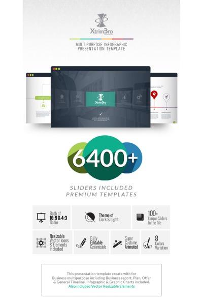 Modèle PowerPoint  pour une agence de marketing #67300