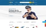 "Modello Siti Web Bootstrap #67310 ""Flextop eCommerce"""