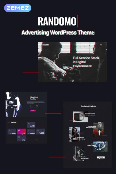 Motyw WordPress #67318 na temat: agencja marketingowa #67318