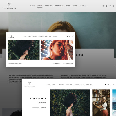 Flexível tema WordPress №67313 para Sites de Galeria de Foto