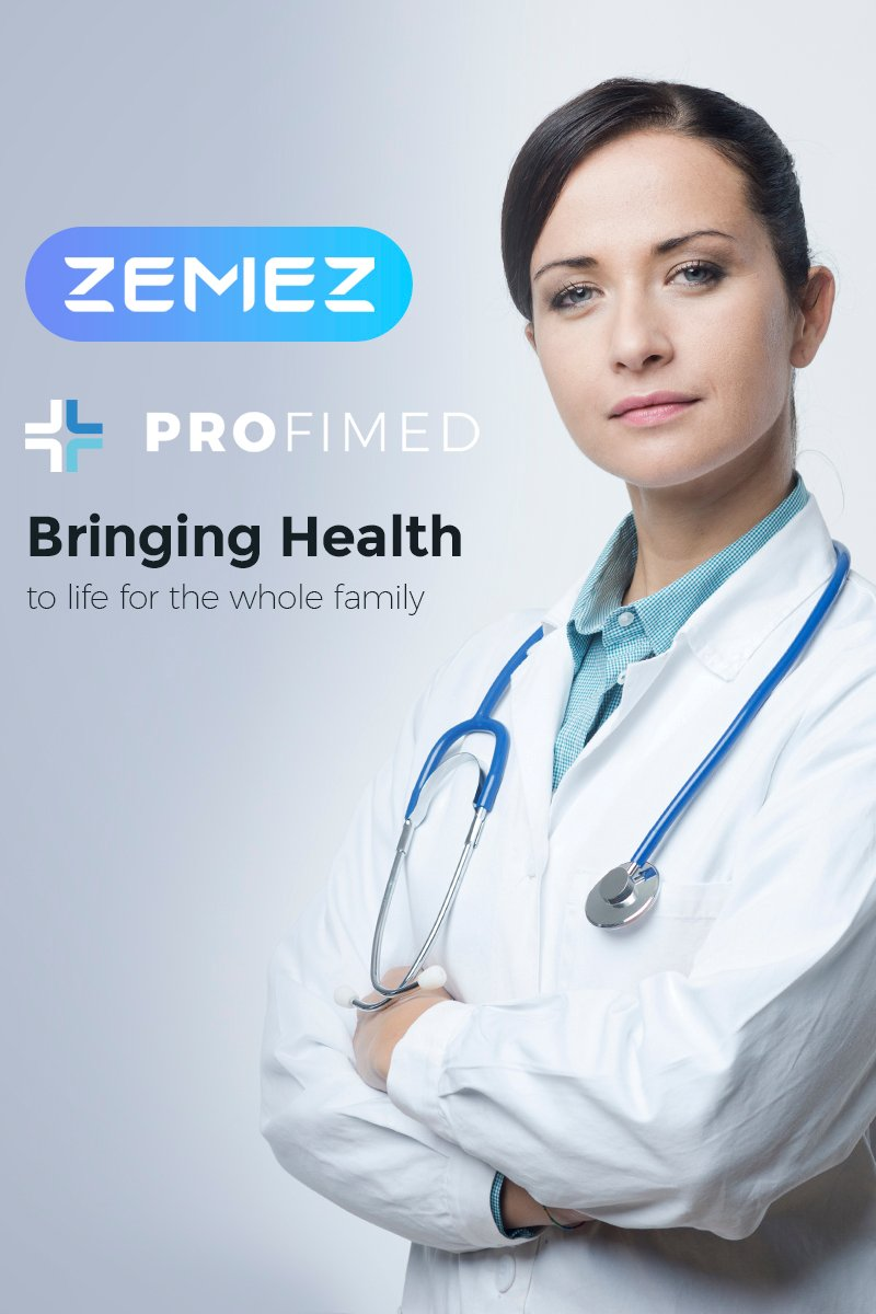 Profimed - Medical Website WordPress Theme - screenshot