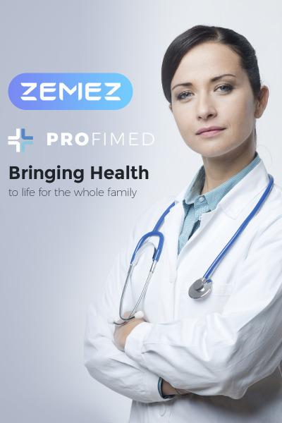 Profimed - Medical Website