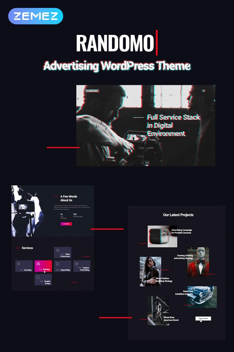 Randomo - Impressive Management&Marketing Agency WordPress Theme - screenshot