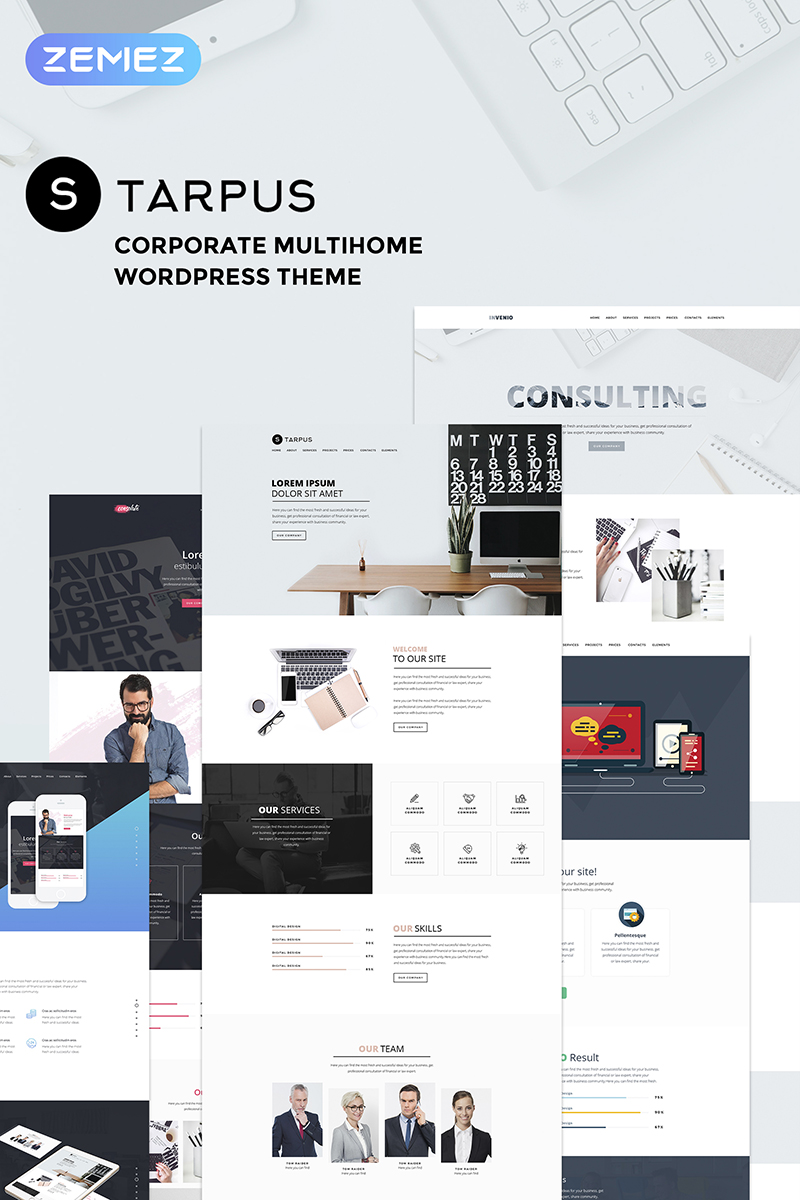 Starpus - Creative Financial Multipurpose WordPress Theme
