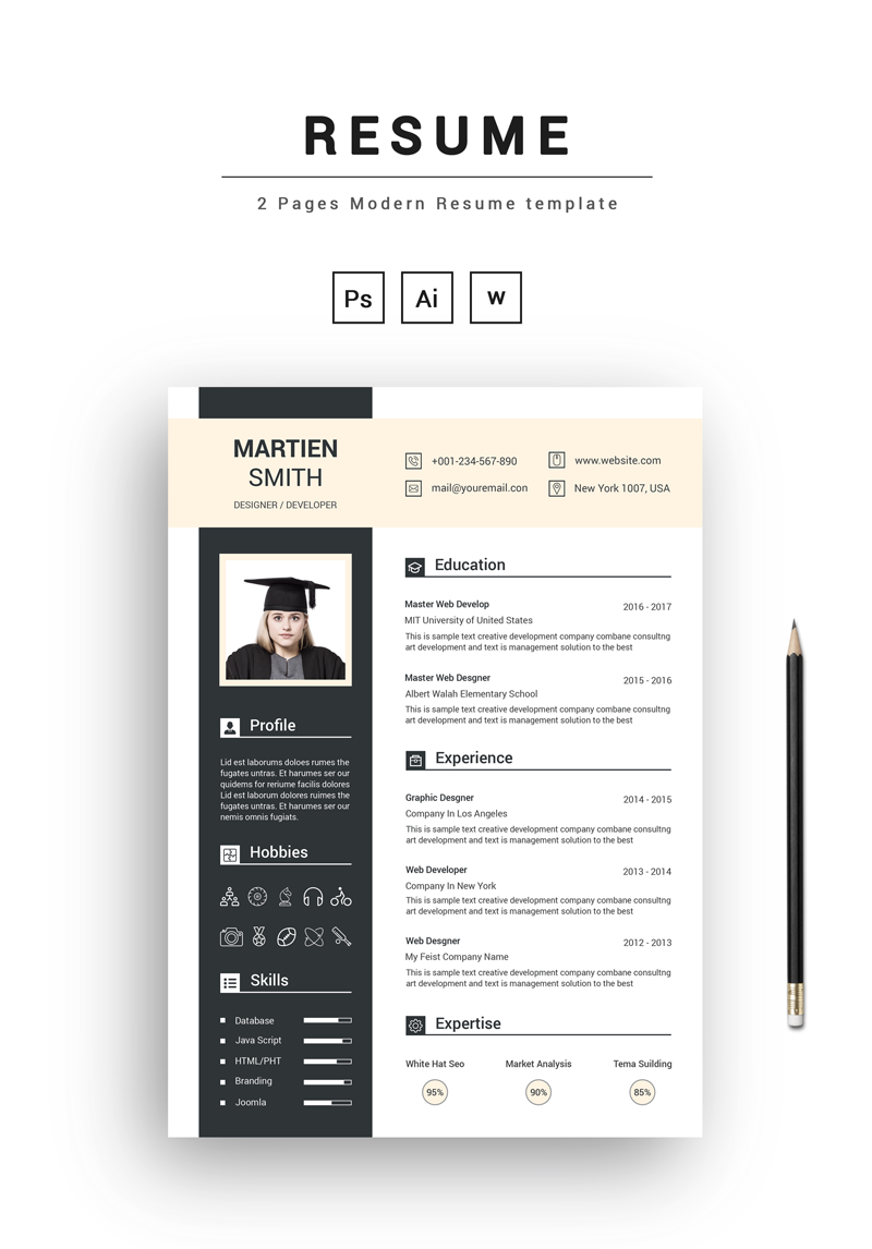 Student Resume Template Resume Student Resume Template Search By Muzli
